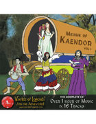 MP3: Music of Kaendor Full CD (16 Tracks)