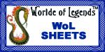 WoL Sheets