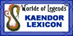WoL Kaendor Lexicon