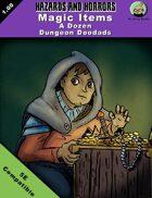 MAGIC ITEMS - A Dozen Dungeon Doodads