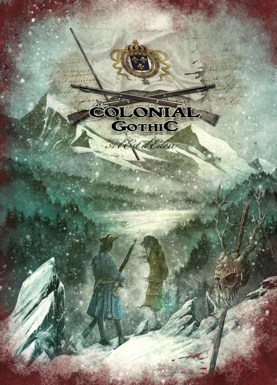 Colonial Gothic, A l'Est d'Eden : Carte de la Nouvelle France