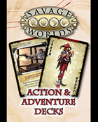 Savage Worlds: Adventure Deck for Fantasy Grounds II