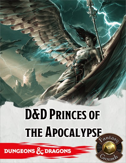 Cover of DDEN2 Princes of the Apocalypse