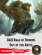 Fantasy Grounds: D&D Rage of Demons: Out of the Abyss