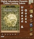 Online Gaming Tokens Pack #8: Undead & Oozes