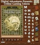 Online Gaming Tokens Pack #9: Monstrous Humanoids & Outsiders