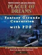 Plague of Dreams Conversion for Fantasy Grounds with PDF