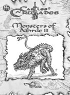 Monsters of Aihrde for Fantasy Grounds II