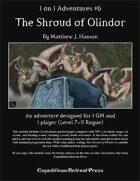 1 on 1 Adventures #6: The Shroud of Olindor for Fantasy Grounds