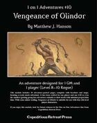 1 on 1 Adventures #10: Vengeance of Olindor for Fantasy Grounds