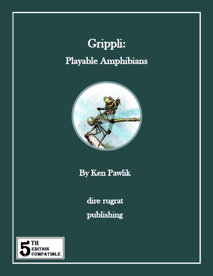 Grippli: Playable Amphibians (5e)