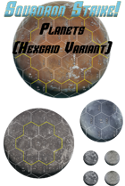 Print And Play Planets (Hex Grid)