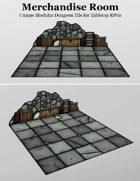 Merchandise Room | Unique Modular Dungeon Tile