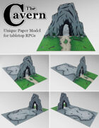The Cavern | Unique Paper Model