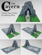 The Cavern | Unique Paper Model