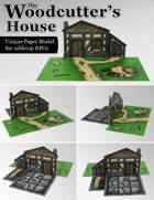 The Woodcutter's House | Unique Paper Model Building