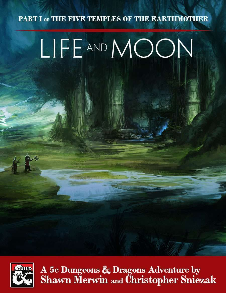 Cover of The Five Temples of the Earthmother Part 1: Life and Moon