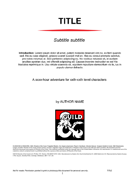 DMs Guild Creator Resource - Adventure Template