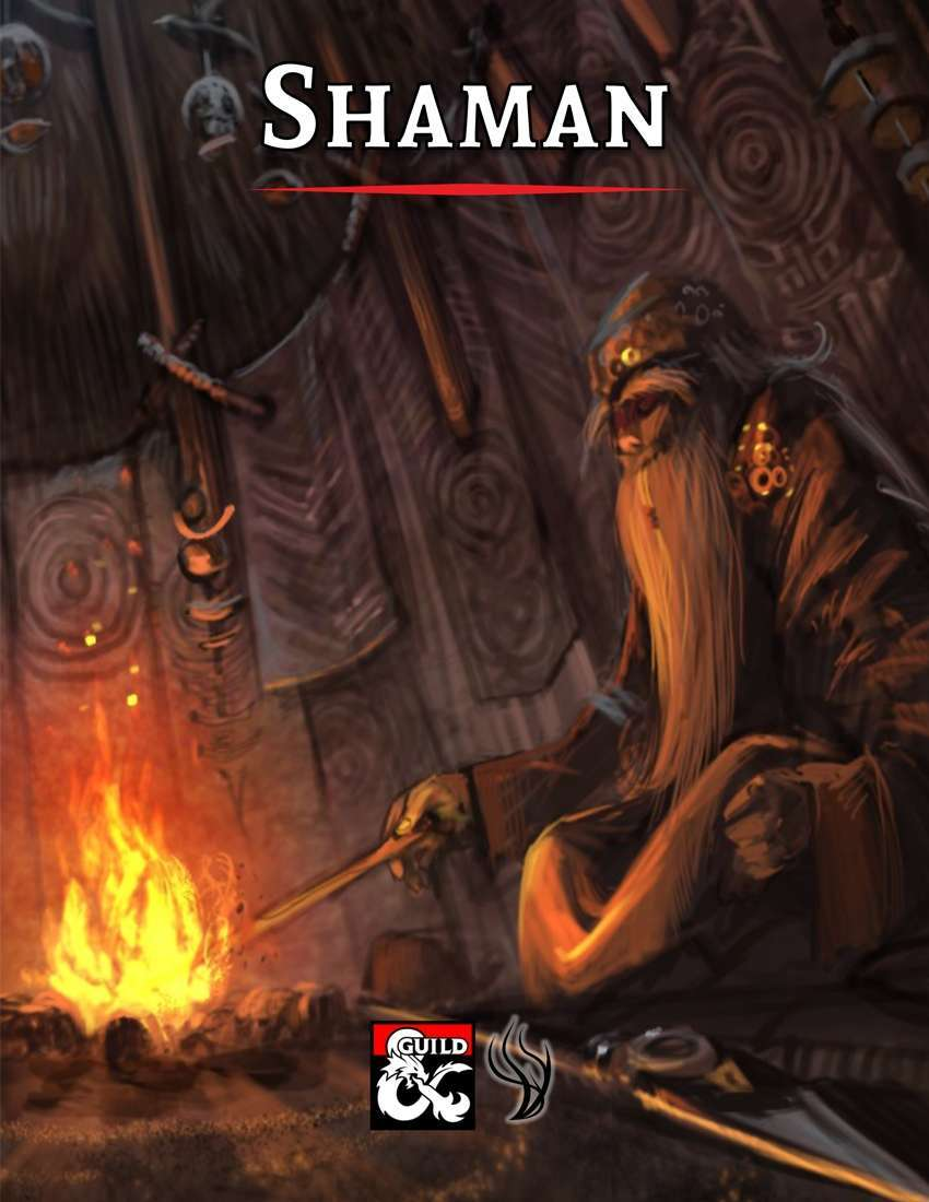 Shaman Class (5e) - Dungeon Masters Guild | Dungeon Masters