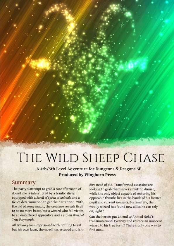 a wild sheep chase summary