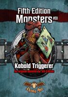 Kobold Triggerer - Fifth Edition Monsters #01