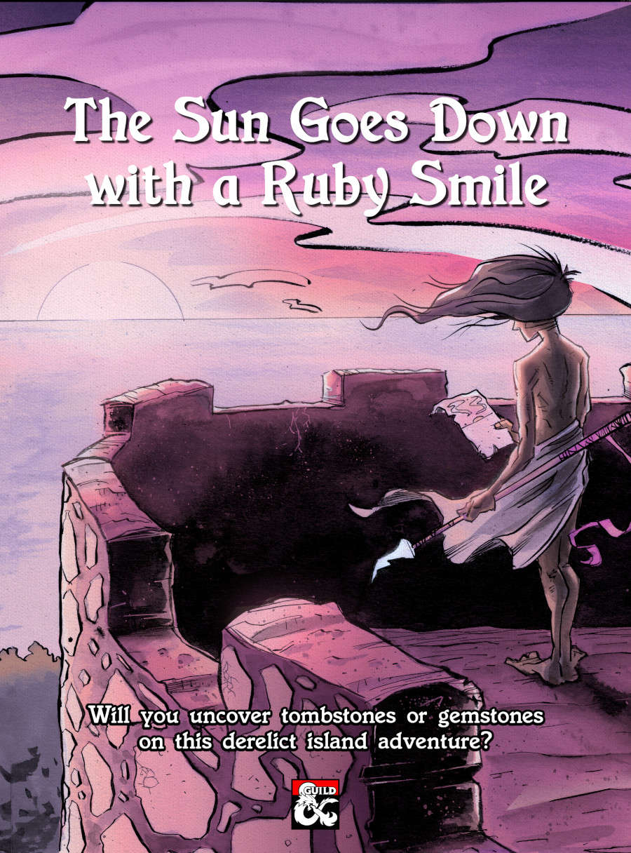 The Sun Goes Down with a Ruby Smile - Dungeon Masters Guild