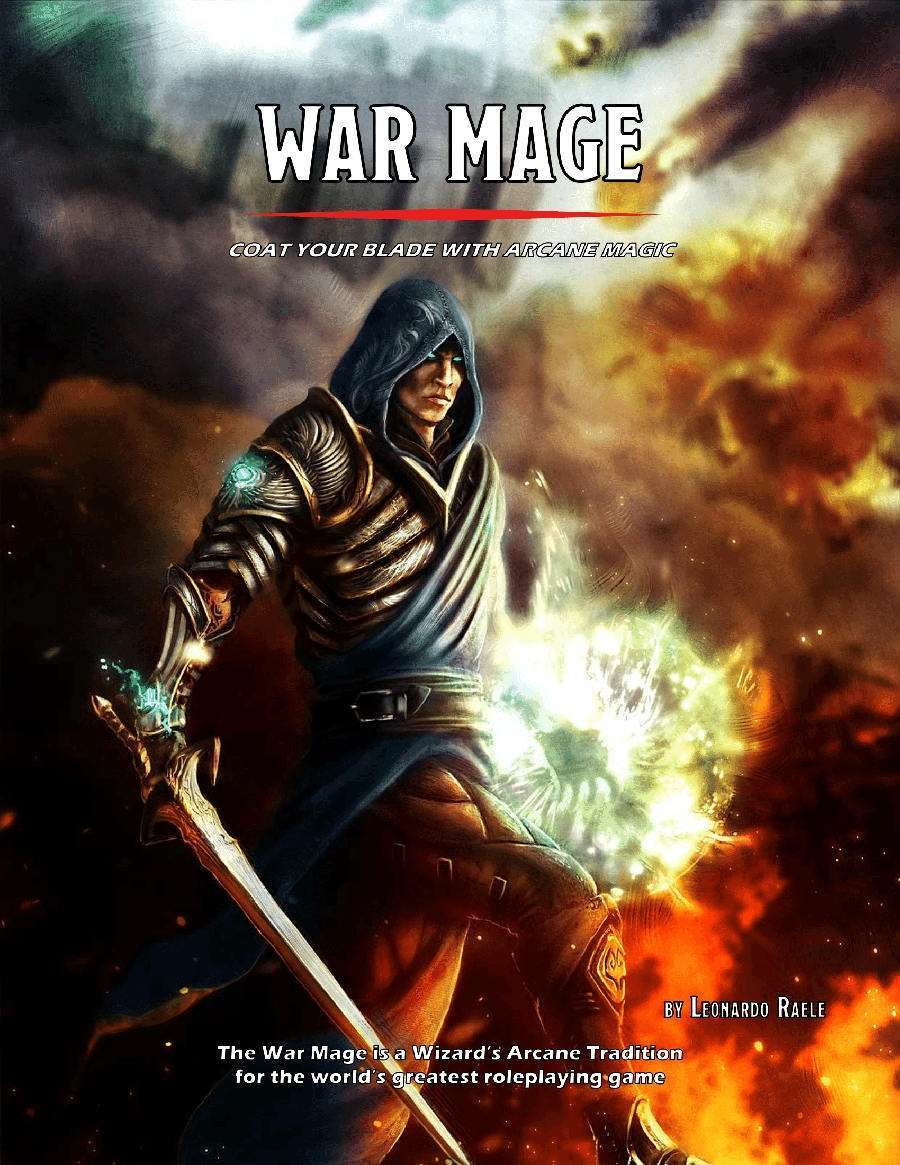 War Mage - Arcane Tradition (5e) - Dungeon Masters Guild |  DriveThruCards com