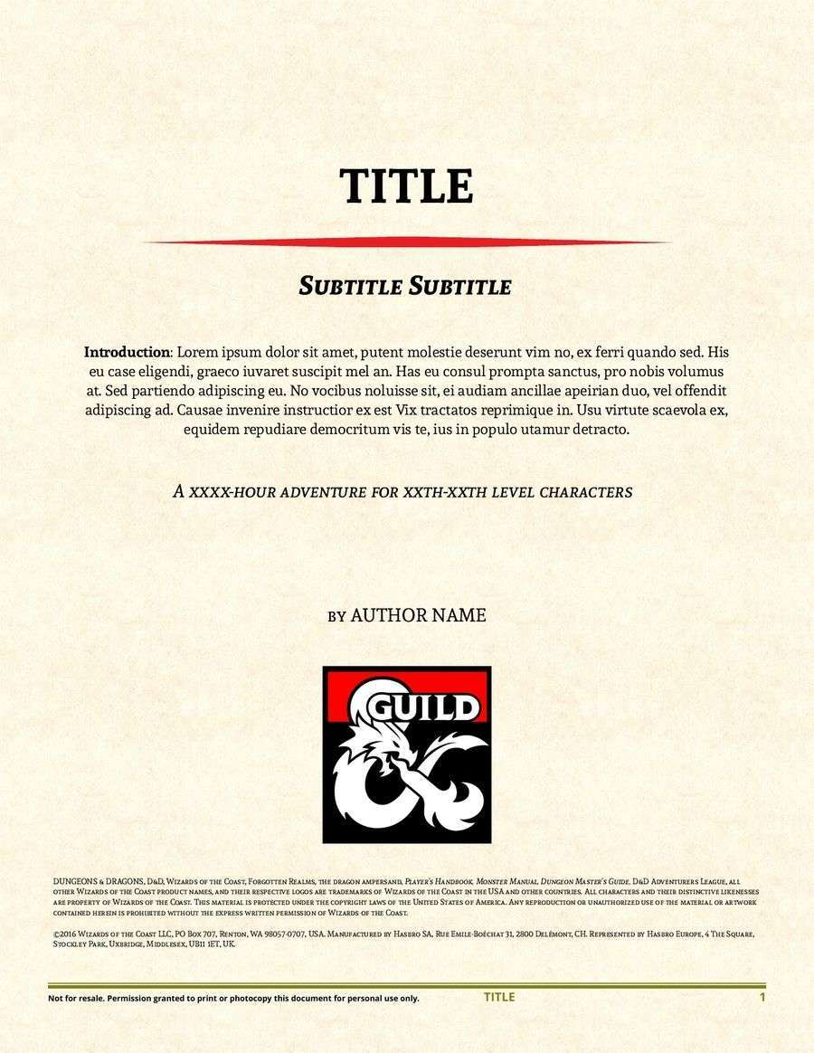 adventure template for openoffice libreoffice dungeon masters