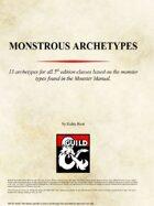 Monstrous Archetypes