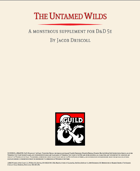 The Untamed Wilds Bestiary