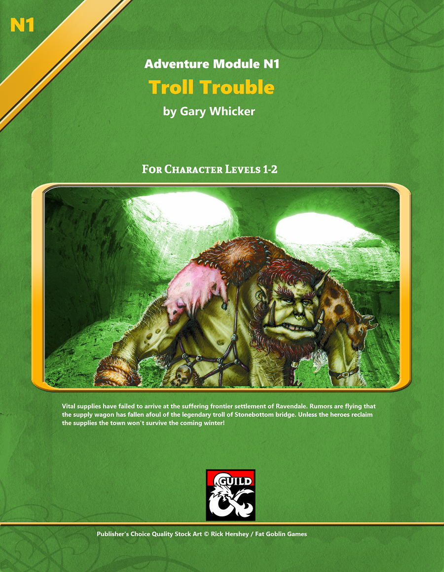 Cover of Troll Trouble