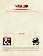 Fighter Archetype - Warlord