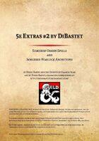 5e Extras by DiBastet #2 - Sorcerer Origin Spells and Sorcerer-Warlock Archetypes