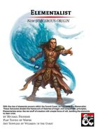Elementalist: New Sorcerous Origin