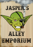 Jasper's Alley Emporium: 10 wondrous items for your next adventure.