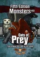 Cats of Prey - Fifth Edition Monsters #03