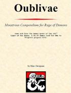 Monstrous Compendium: Oublivae