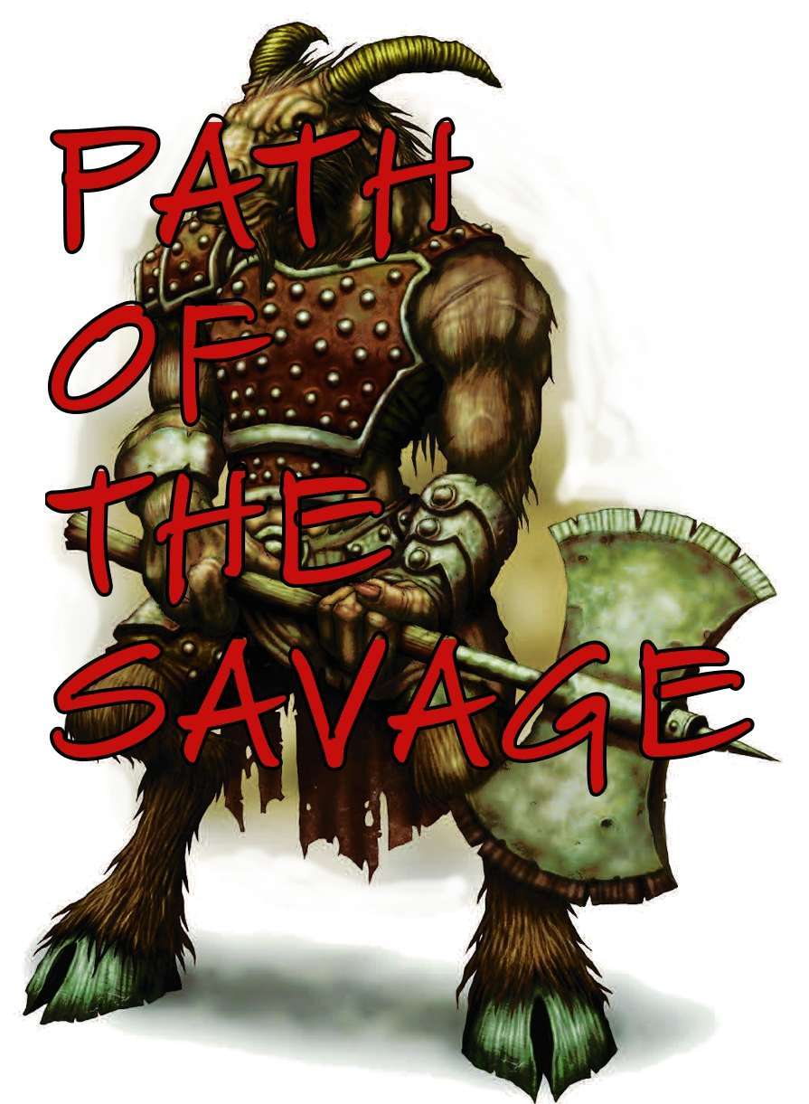 Barbarian Path Of The Savage Dungeon Masters Guild