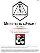 RPG001 Monster in a Swamp