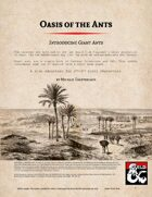 Oasis of the Ants