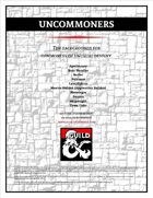 Uncommoners (10 Backgrounds)