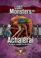 Achaierai - Lost Monsters #01