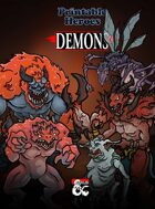 Demon Paper Miniatures