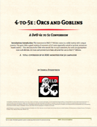 4-to-5e: Orcs and Goblins