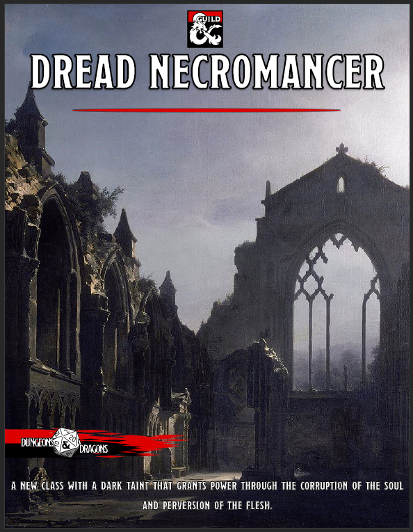 Dread Necromancer - Dungeon Masters Guild | Dungeon Masters Guild