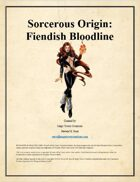 MTC - Sorcerous Origin: Fiendish Bloodline