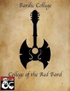 Bard - College of the Red Bard