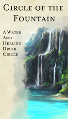 Druid Circle - Circle of the Fountain