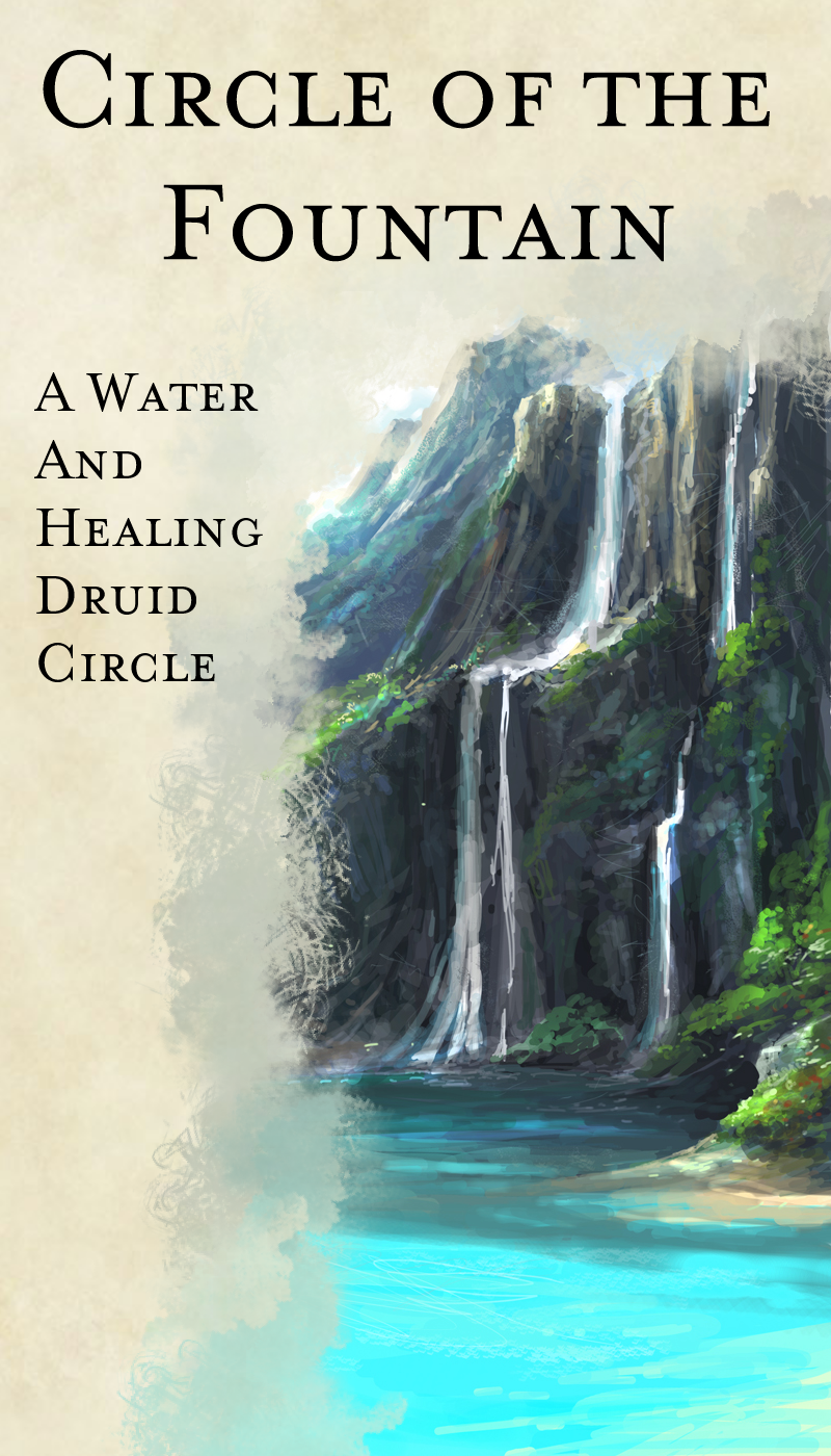 Druid Circle - Circle of the Fountain - Dungeon Masters