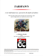 Farspawn, a new race of quasi-aberrations for PCs touched by the Far Realm